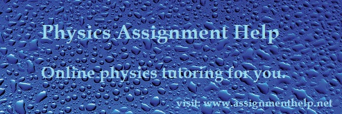 physics homework help Physics help is available through examples of solved physics problems, interactive quizzes, and tutorials our physics tutors provide expert physics homework help.