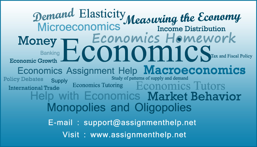 End Help in Economics Homework Subject – Affordable Expert Economics ...