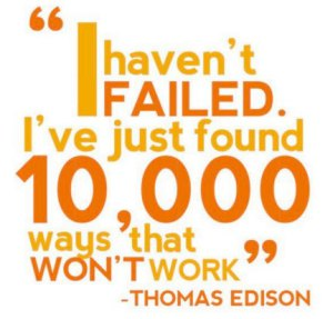failure is the first step to success essay Failure quotes: failure leads to success  most people achieved their greatest success one step beyond what  remember the two benefits of failure first,.