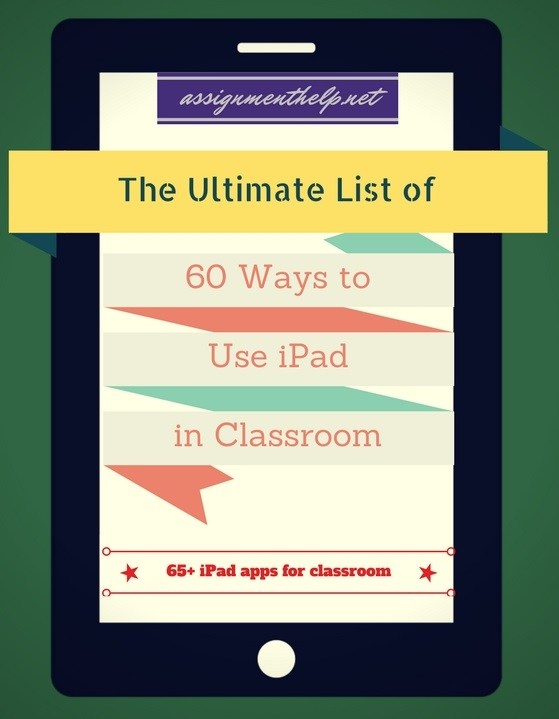The Ultimate Compilation of 60 Ways To Use an iPad in the Classroom