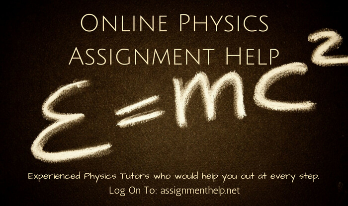 Online Physics Assignment Help