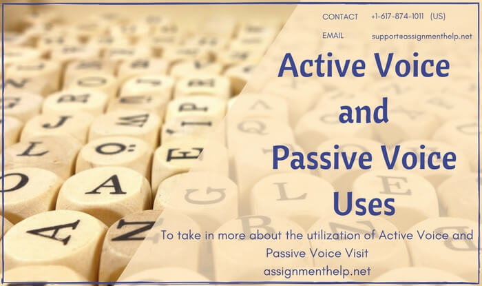 Active Voice and Passive Voice Uses