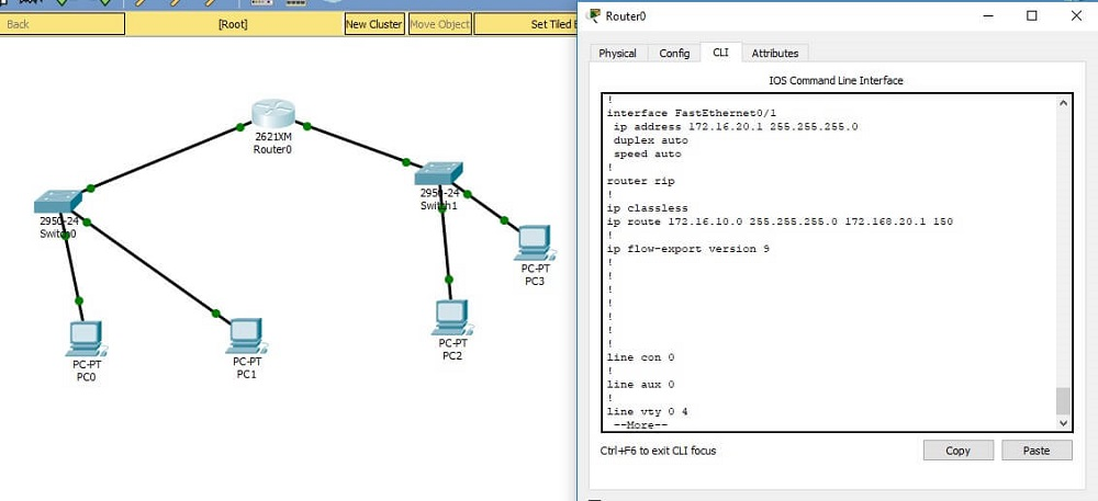 CCNA Exercise Lab 5 Image 1