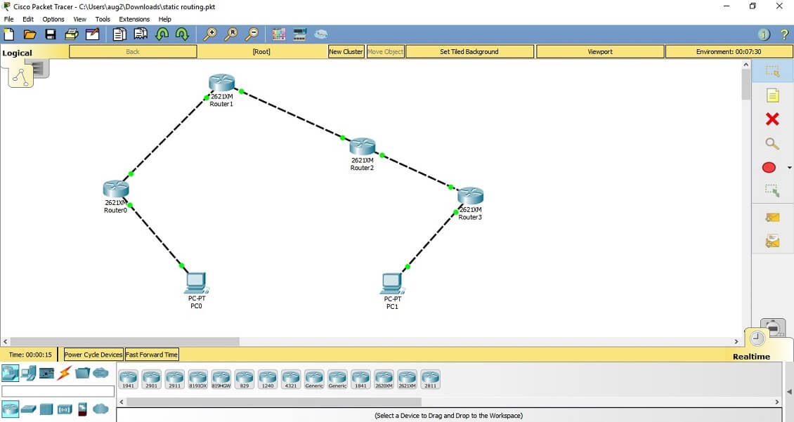 CCNA Exercise Lab 5 Image 3