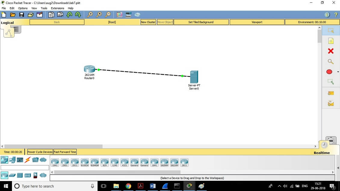 CCNA Exercise Lab 7 Image 7