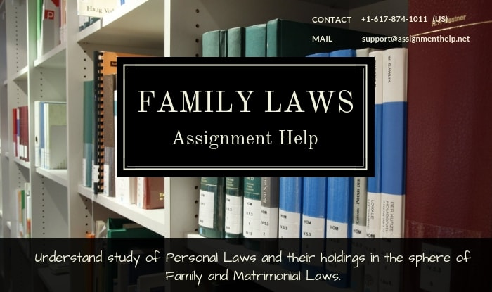 Family Laws Assignment Help