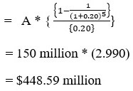 Annuity and Perpetuity formula 3