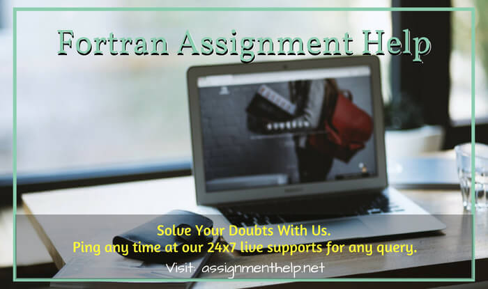 Fortran Assignment Help
