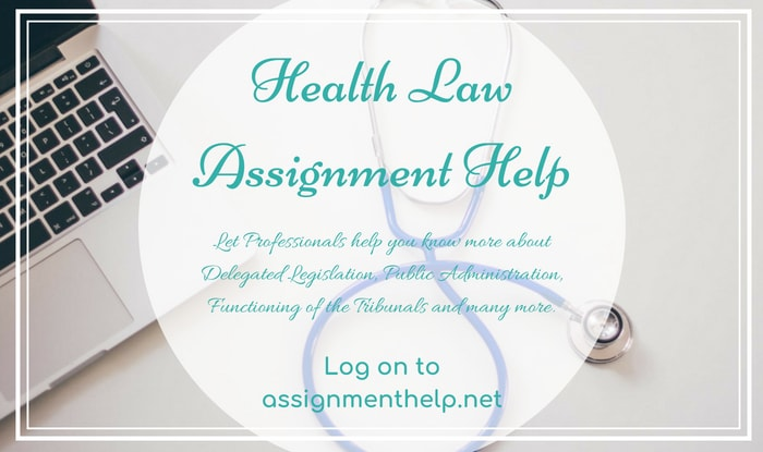 Health Law Assignment Help