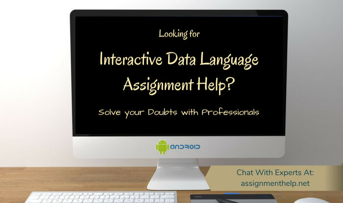 Interactive Data Language Assignment Help
