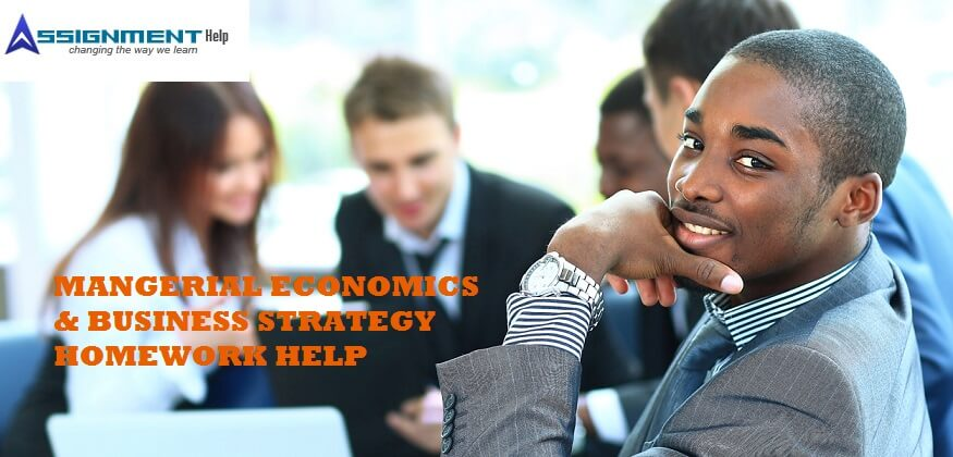 managerial economics homework help