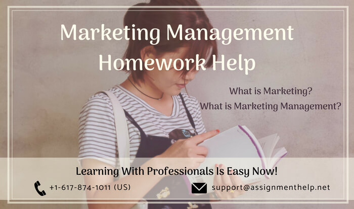marketing management homework help