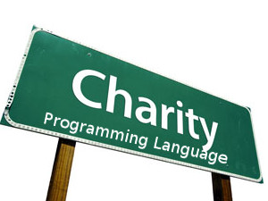 Charity Programming Language