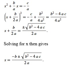 Quadratic equations homework help