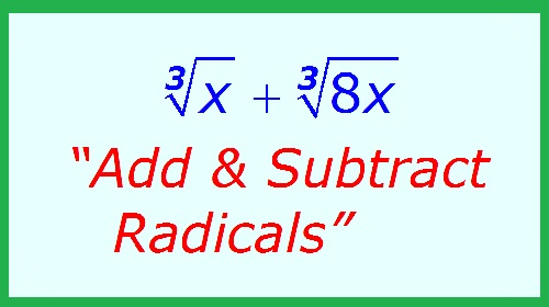 Radicals Assignment Help