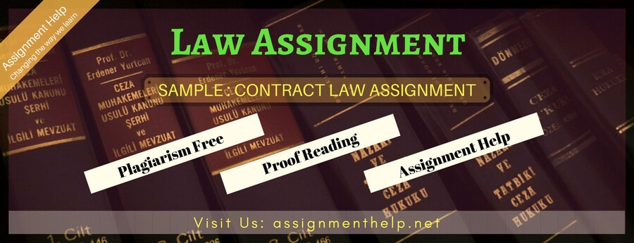 Sample Contract law Assignment