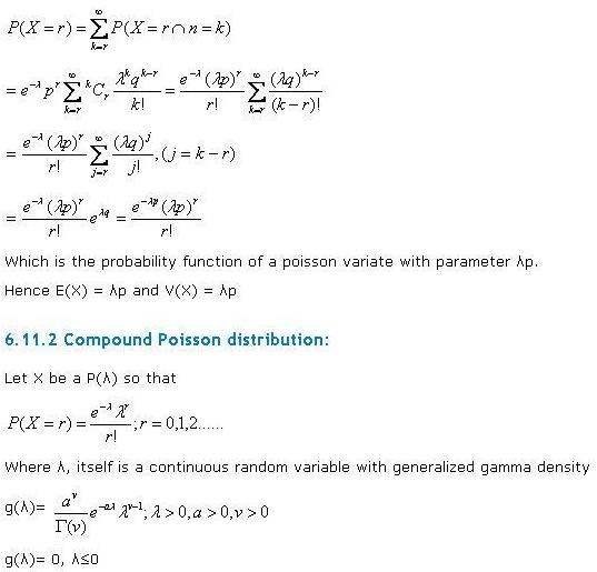 compound poisson distribution