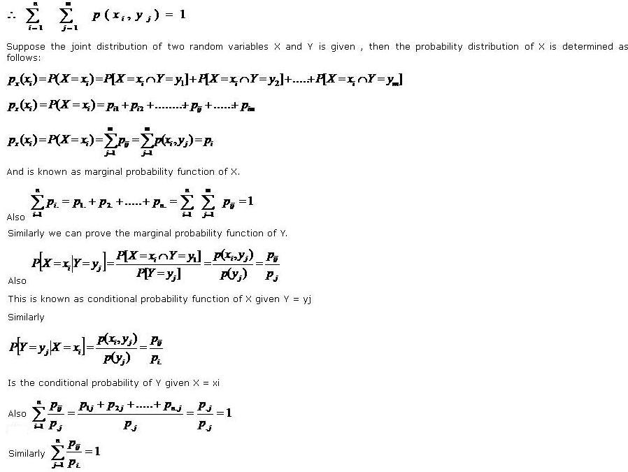 joint probability mass function