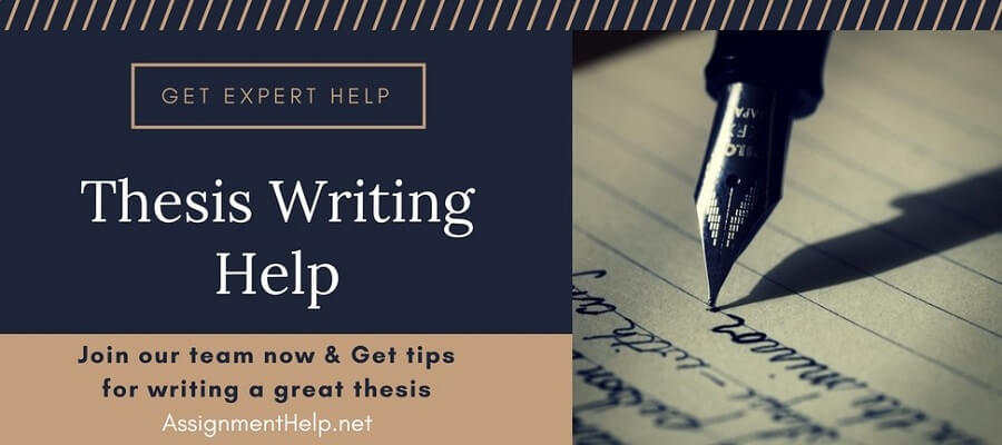 Help writing your dissertation
