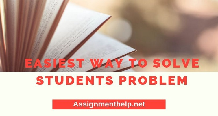 easiest way to solve students problem
