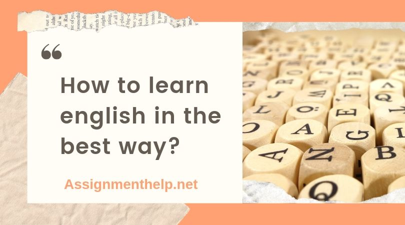 how to learn english in the best way