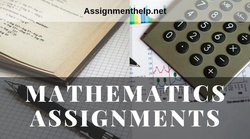 mathematics assignments