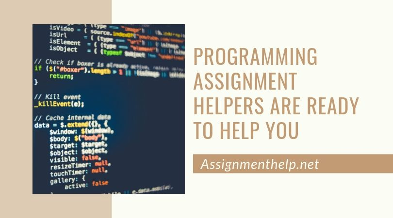 programming assignment helpers are ready to help you