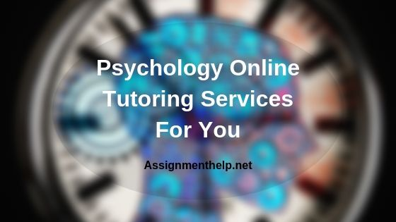 psychology online tutoring services for you