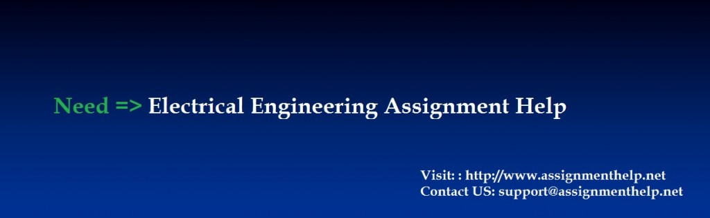 Electrical Engineering Assignment Help Services