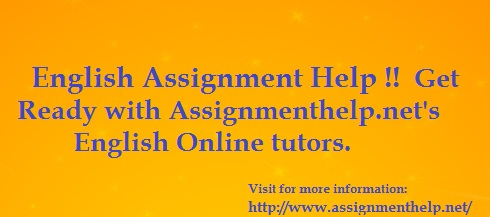 English Assignment Help Services
