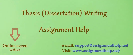 thesis writing assignment help