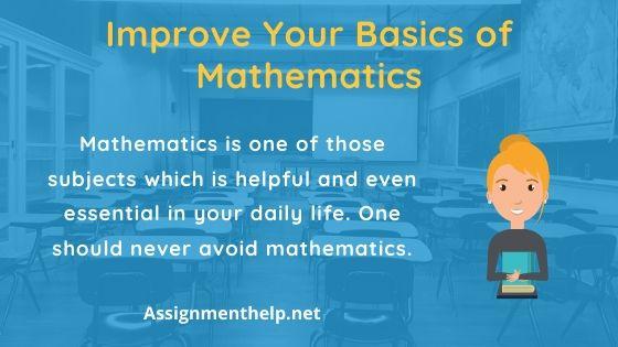 Improve Your Basics of Mathematics