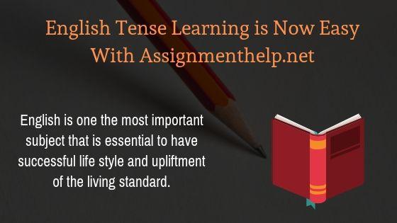 english tense learning