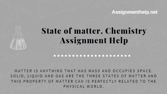 state of matter