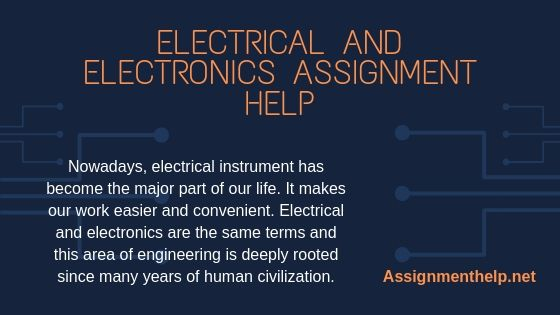 electrical and electronics assignment help