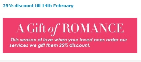 Valentines Day Homework Help Discount