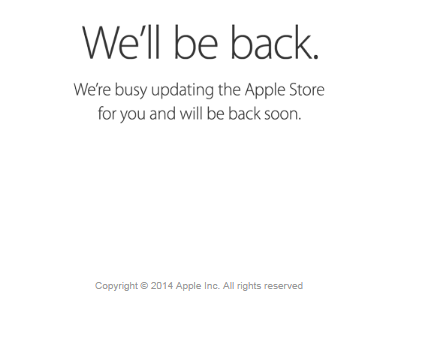 apple iphone preorder server down