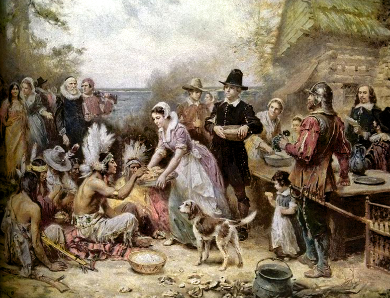 The First Thanksgiving Feast myths and facts