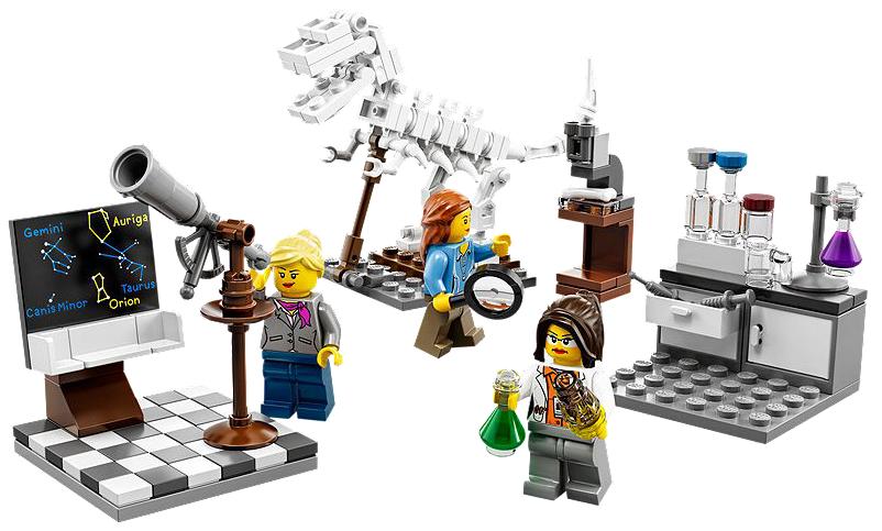 Lego Reserach Institute Lab Female Scientist mini figure