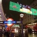 London Metro Christmas Lights