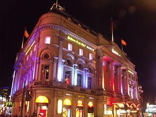 Ripley's Believe it or not Museum London  Christmas Lights
