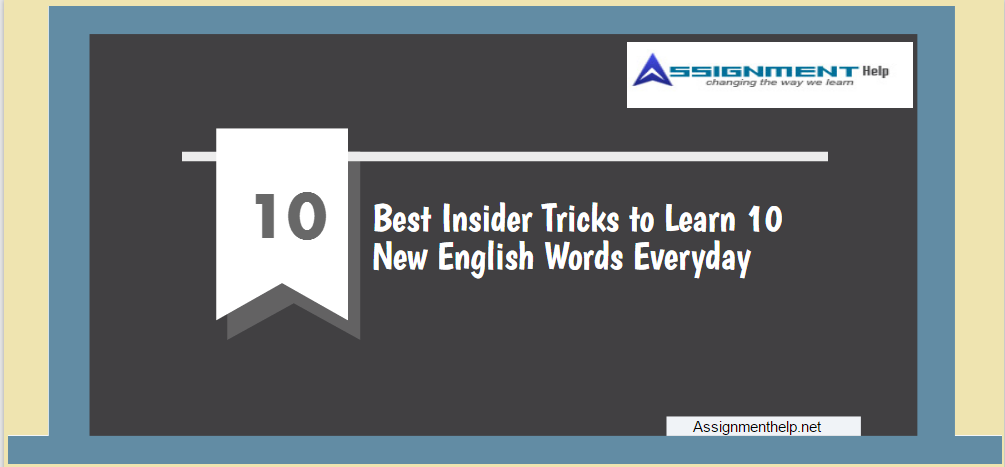 learn 10 english words everyday