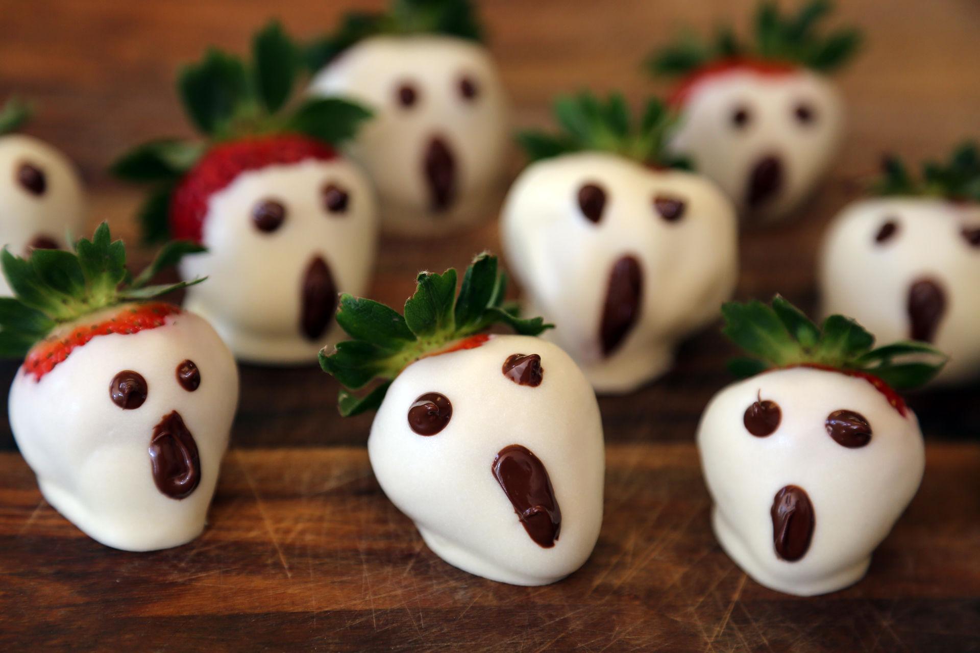 halloween scary snacks idea