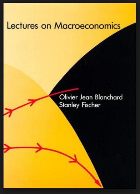 blanchard fischer macroeconomics book solutions