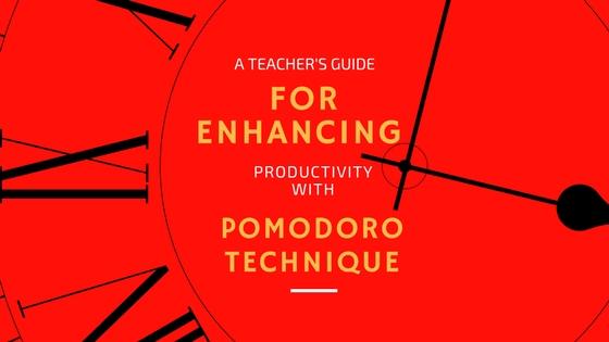 pomodoro technique teachers productivity