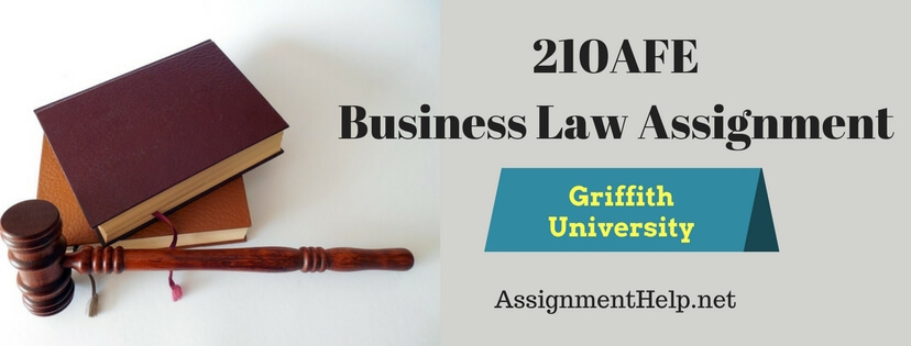 2105AFE Introduction to business law Assignment