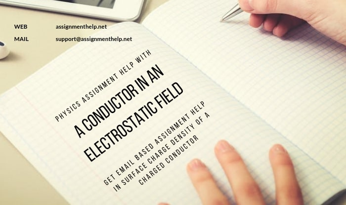 a conductor in an electrostatic field