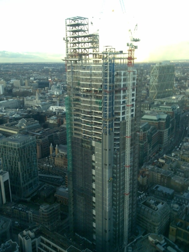A study of BIM and the BIM of Heron Tower img20