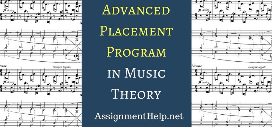 advanced placement program in AP music theory