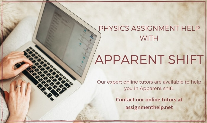 Apparent Shift Assignment Help